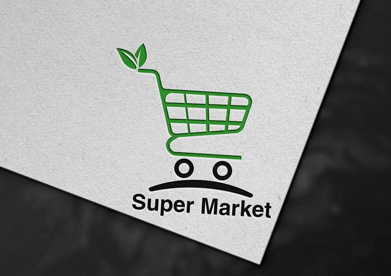 شعار سوبر ماركت logo super market
