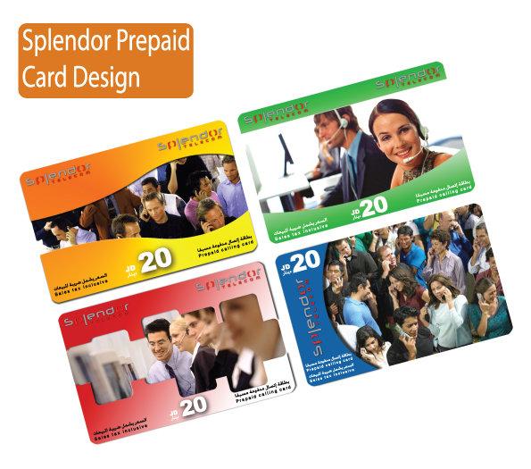 PrePaid cards design