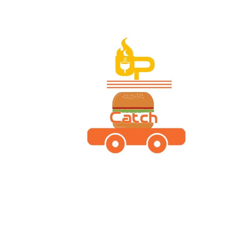 شعار عربة طعام فاست فودز متنقلة catch up