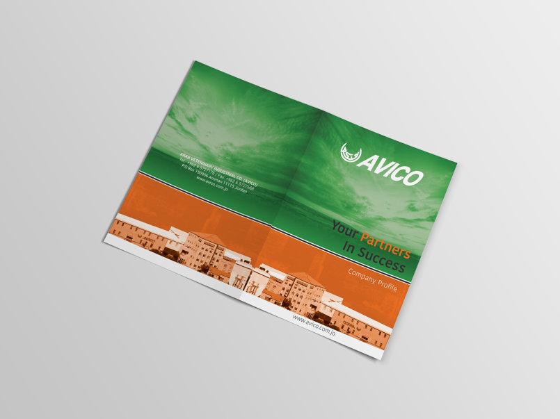 Bifold Brochure Company Profile