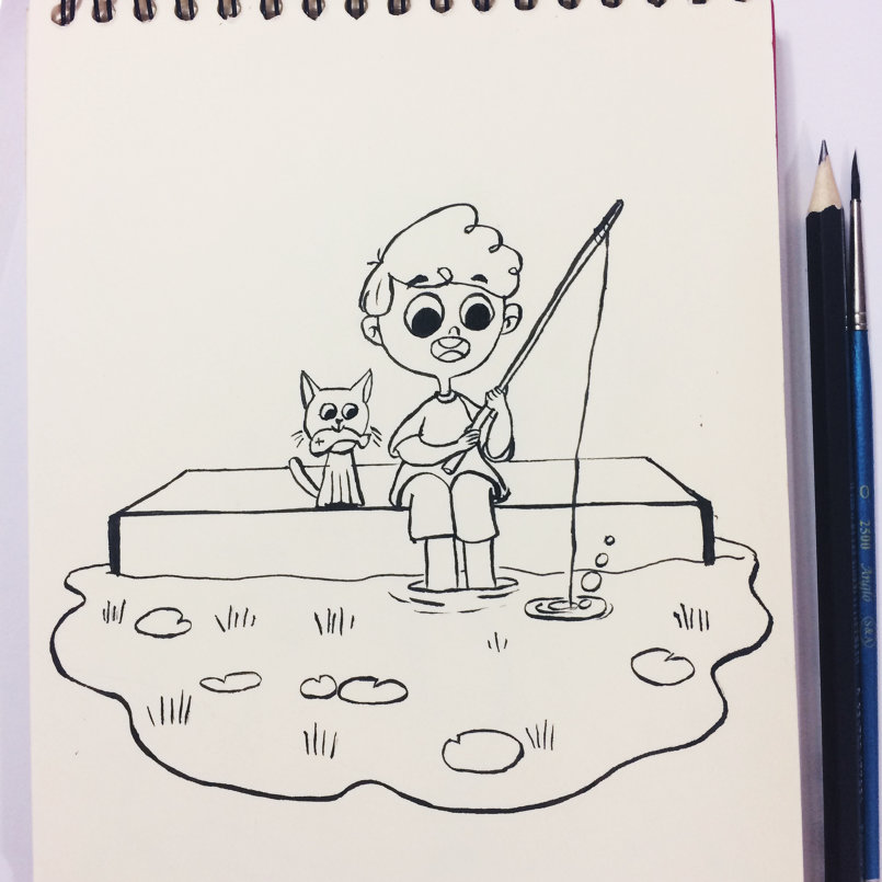 Day 14: Fishing