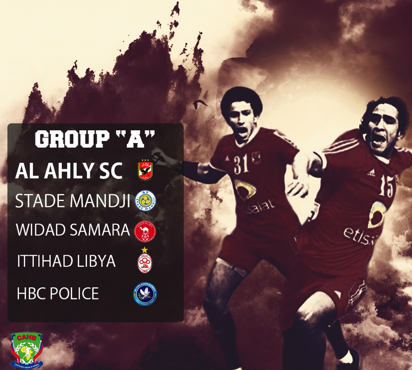 Al-Ahly Handball Team Group of African Champions Leauge.