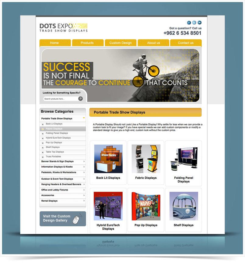 Dotsexpo Website - Jordan