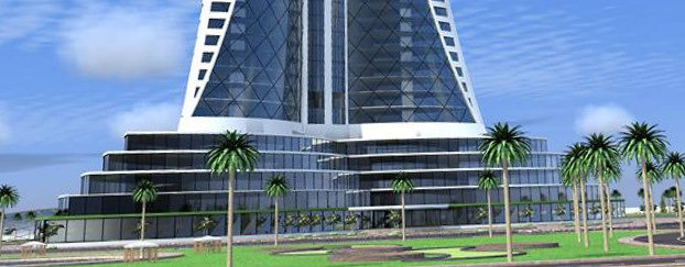Design of a business tower in el mohhamadia Algiers