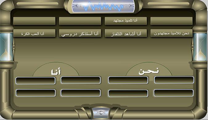 نماذج من مشروع تعليمي للغة العربية للمرحلة الابتدائية