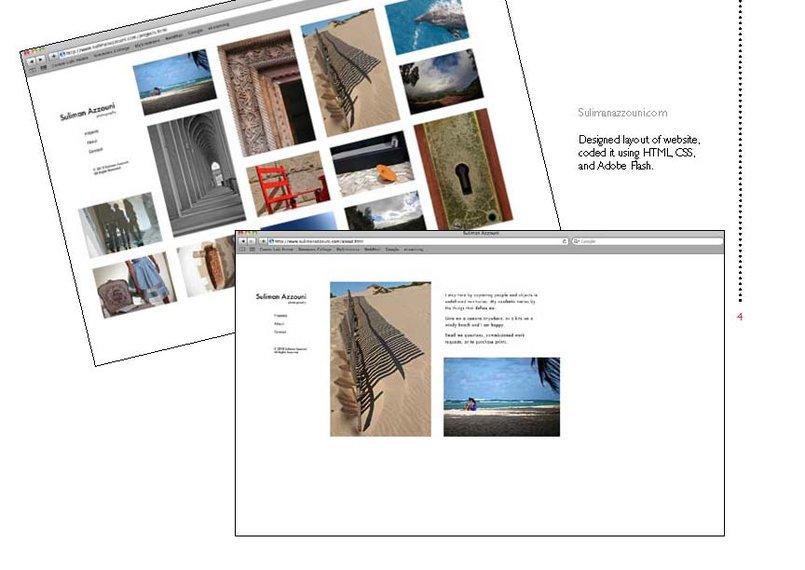 www.sulimanazzouni.com - photo portfolio website