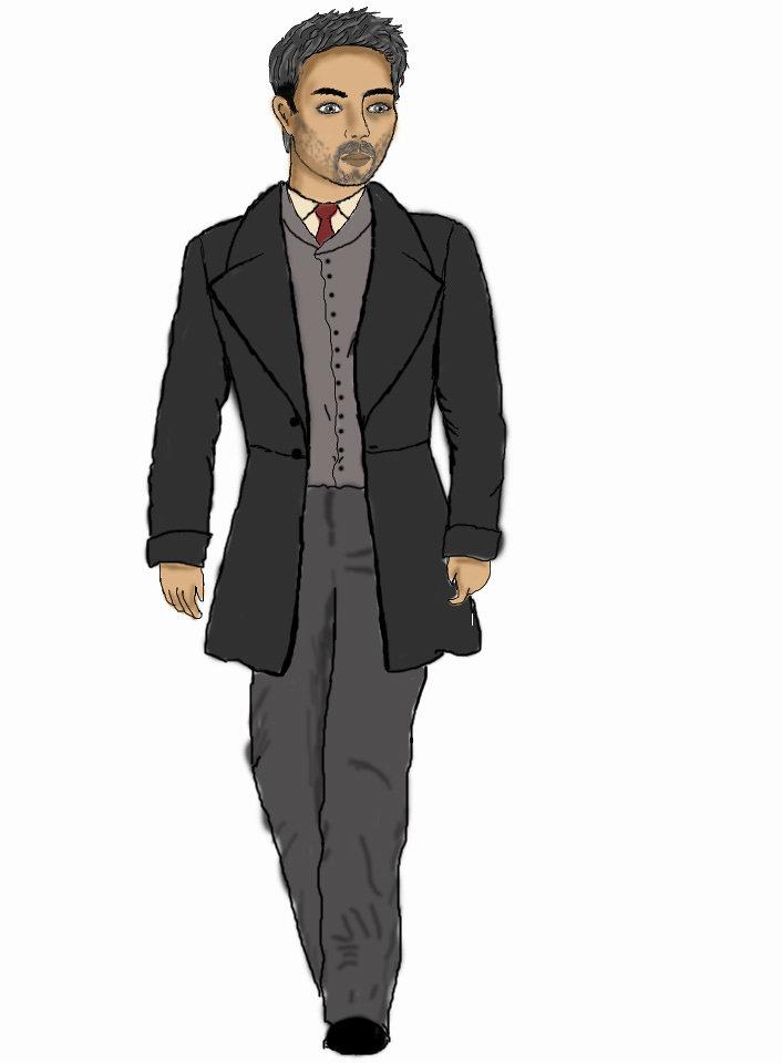man 2d character