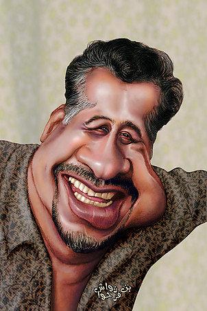 Khaled Caricature