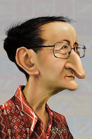 Idir Caricature