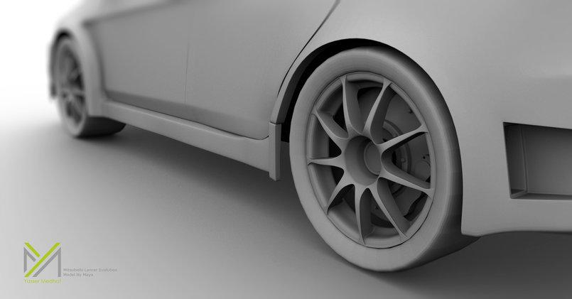 Mitsubishi Lancer Evolution 2011 By Maya