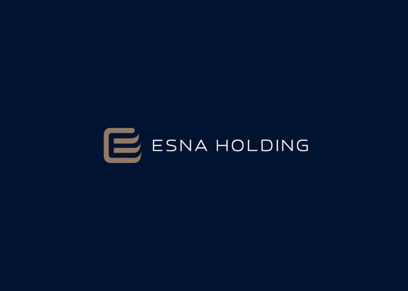 Esna Holding Logo & Corporate Identity Development 2