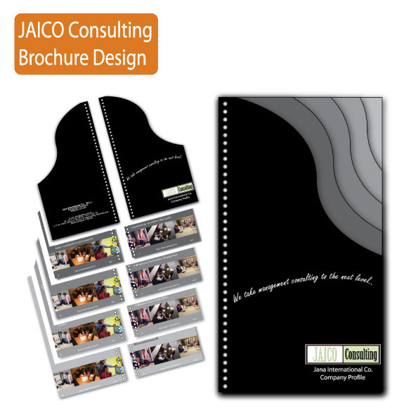 Jaico consulting brochure design