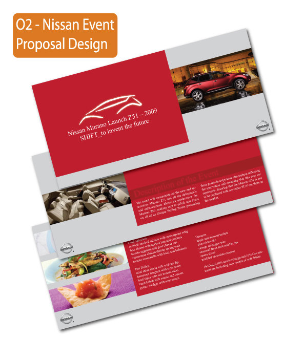 Nissan proposal catalog