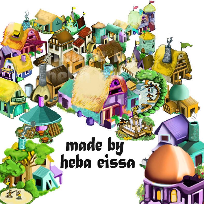 تصميم خلفيات لعبة إلكترونية