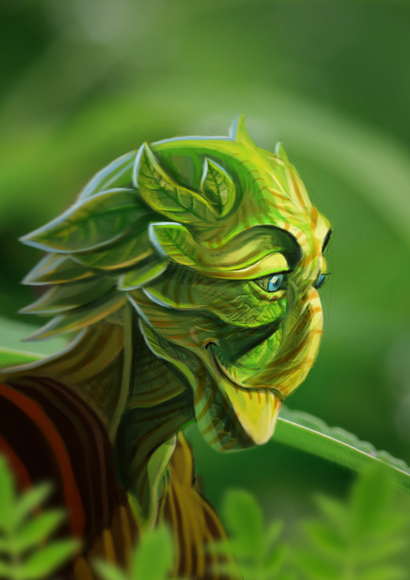 Creature herbaceous