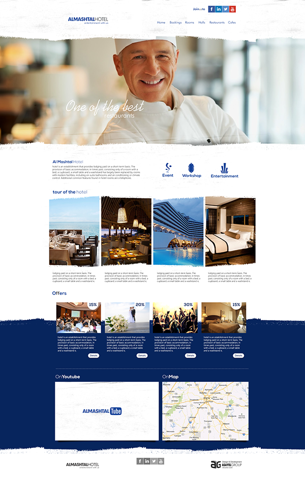 AlMashtal Hotel Website