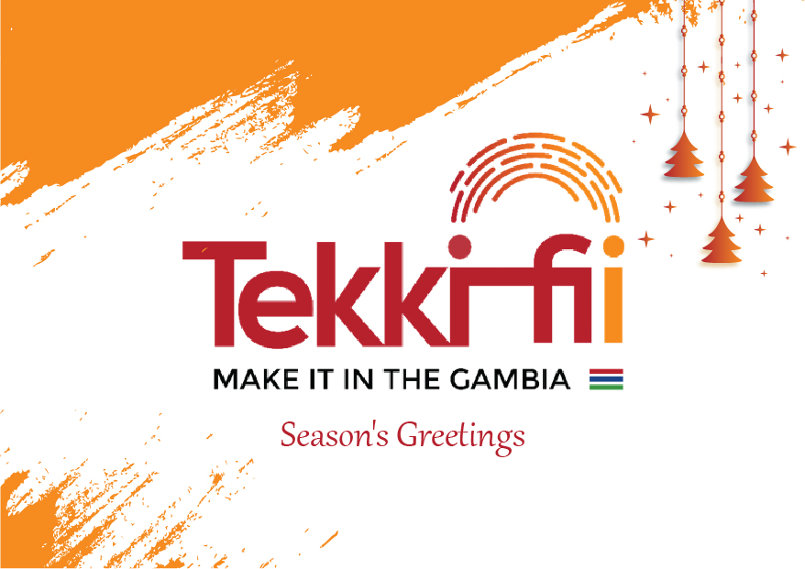Season's Greeting's card for Tekkifii