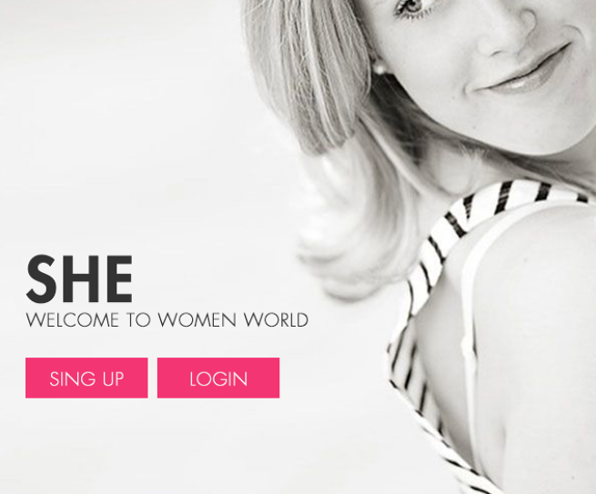 SHE _ women products app store