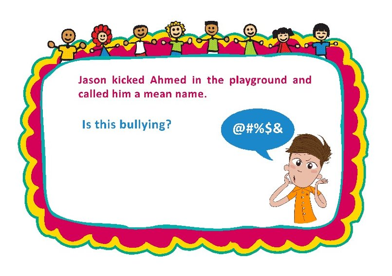 Bullying Discussion Cards 3