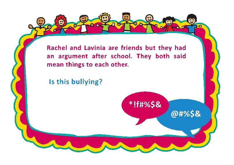 Bullying Discussion Cards 4