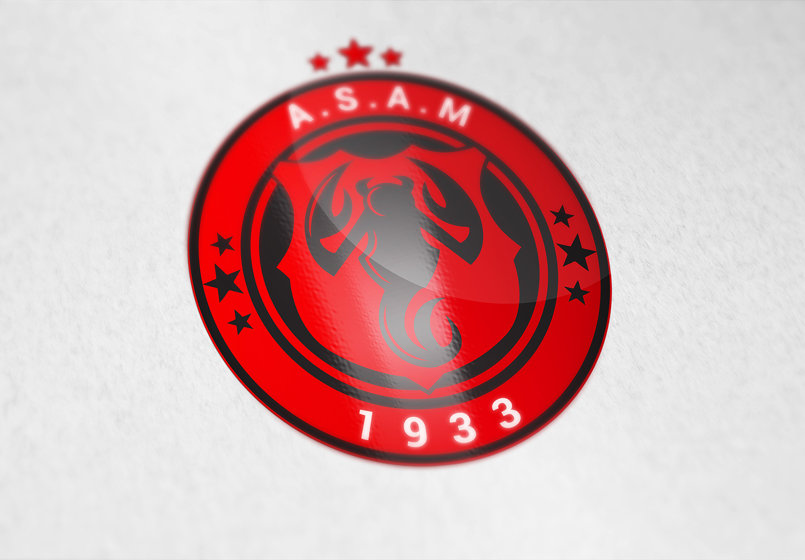 ASAM Football team logo