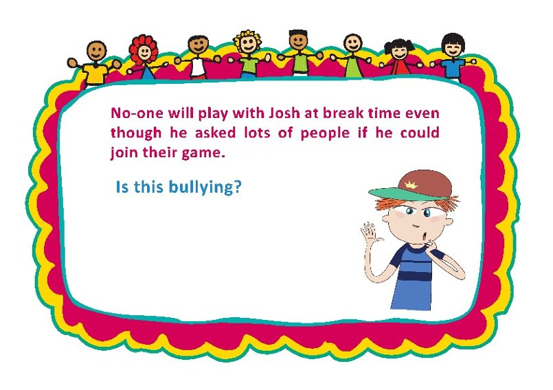 Bullying Discussion Cards 5