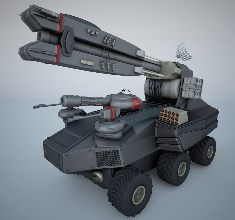 موديلينج دبابة