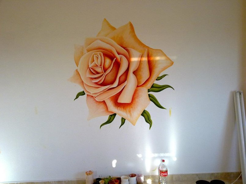 رسم جداريات ولوحات ضخمة