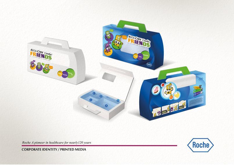 أعمال تغليف Packaging Roche Accu-Chek