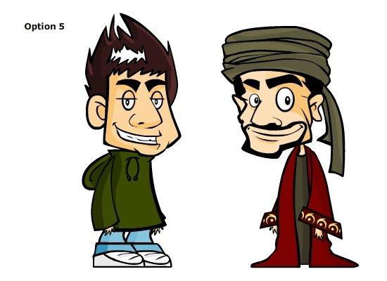 Ibn Fadi - Character Design
