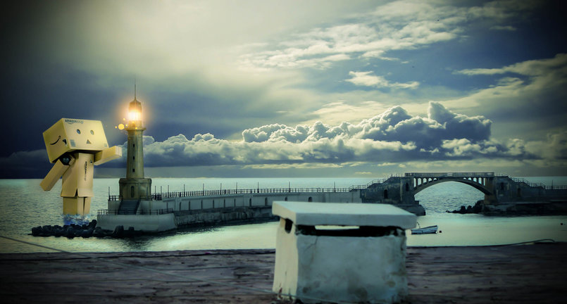 Danbo and Alexandria royal gardens lighthouse