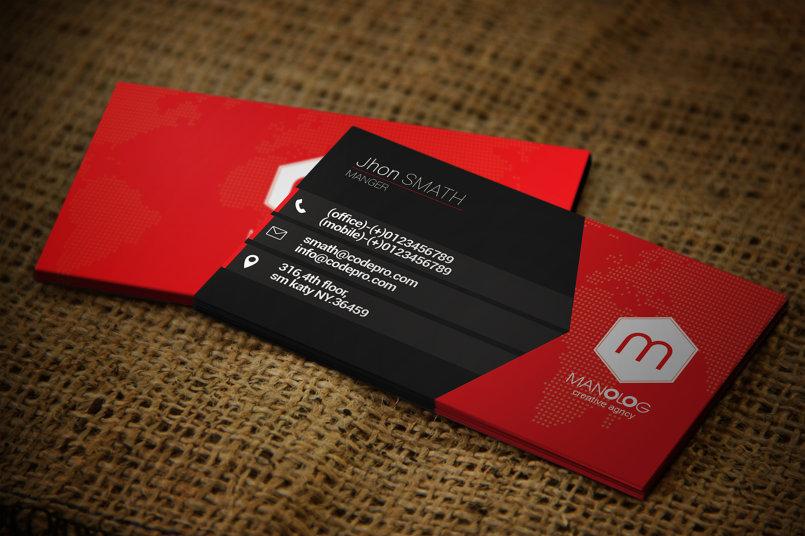 Premium Business Card #14
