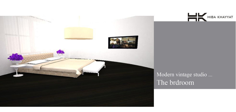 modern vintage studio