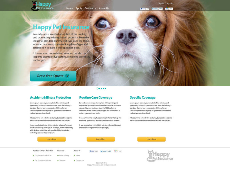 Happy pet Insureance