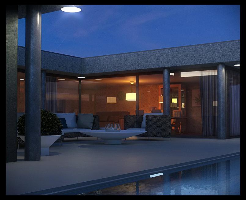 Exterior Pool - Night time  high resolution : http://imageshack.us/f/585/nightpool.jpg/