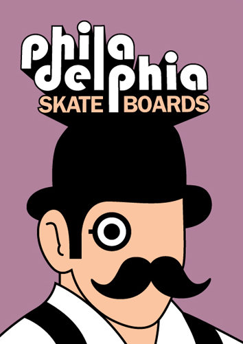 Philadelphia Skateboards | Wave 2 Flier