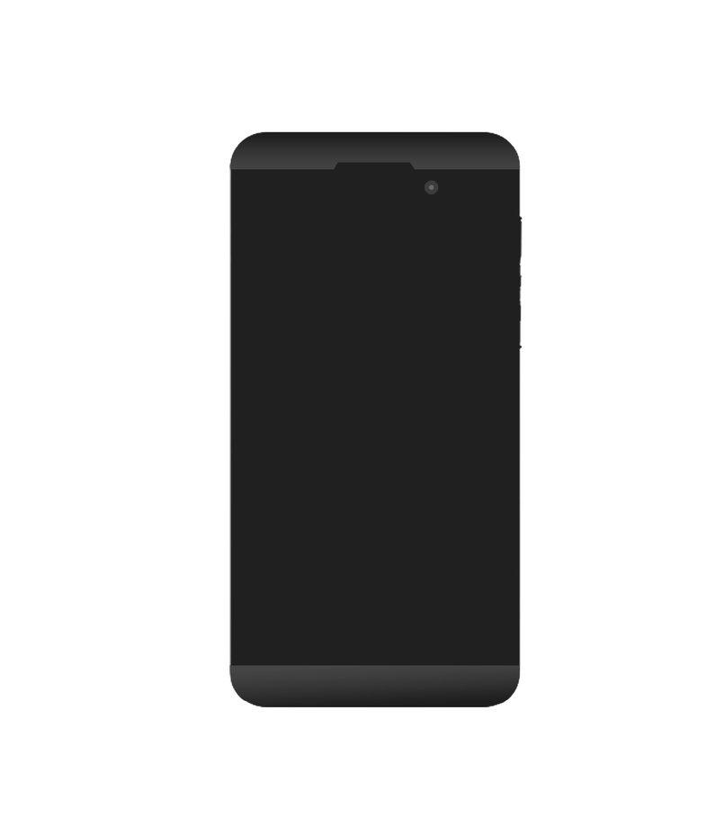 Blackberry Z10 design