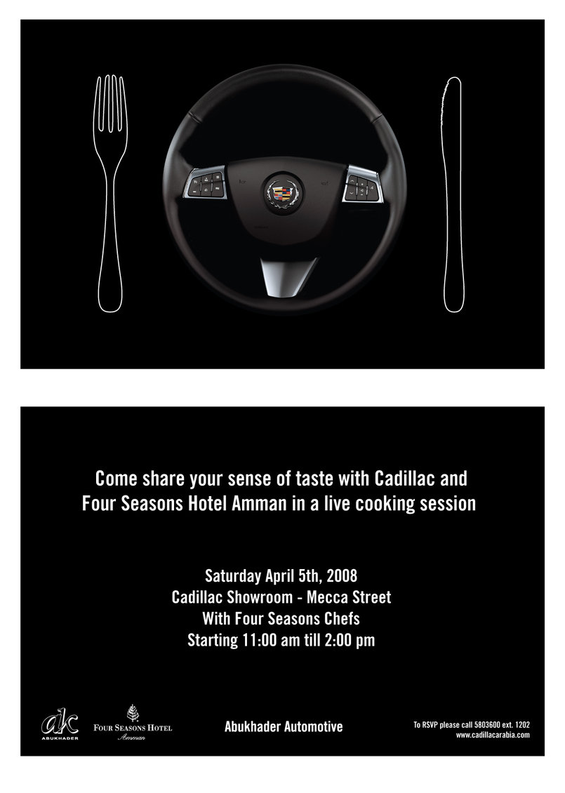 Cadillac | Cooking Invite