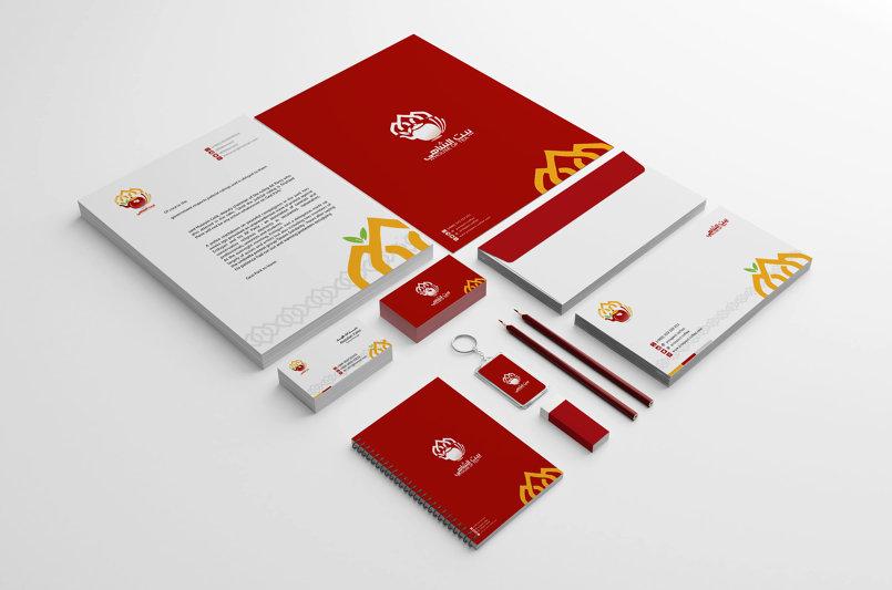 الهوية التجارية مشروع بيت الشاهي