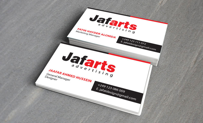 Jafarts - Business Cards