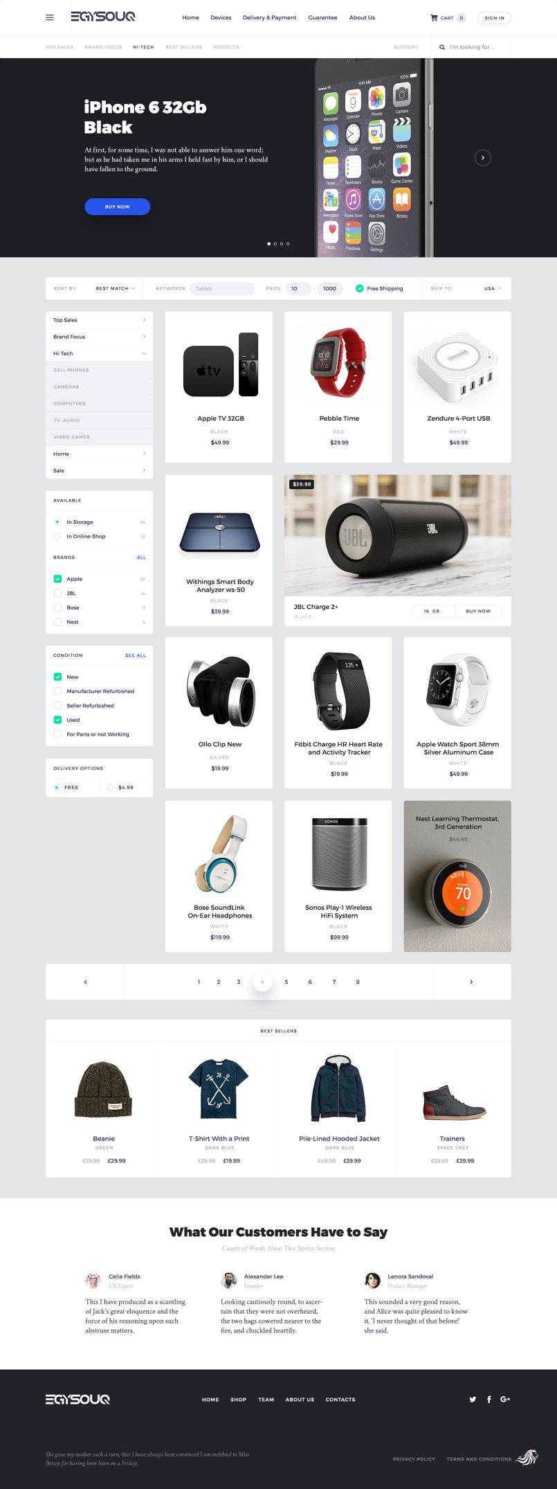 store website
