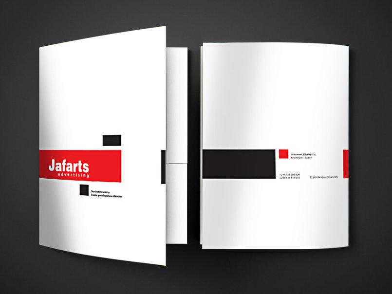 Jafarts - Folder Mockup
