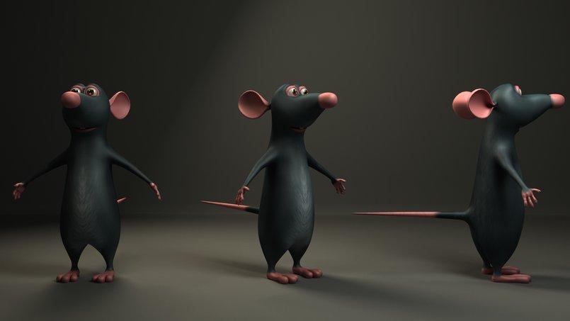 Ratatouille Render test