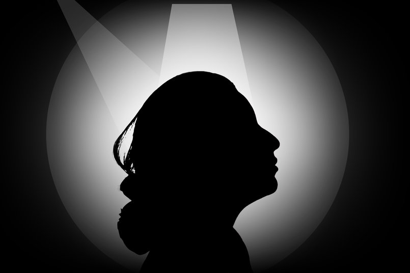 "silhouette girl ""Edited"""