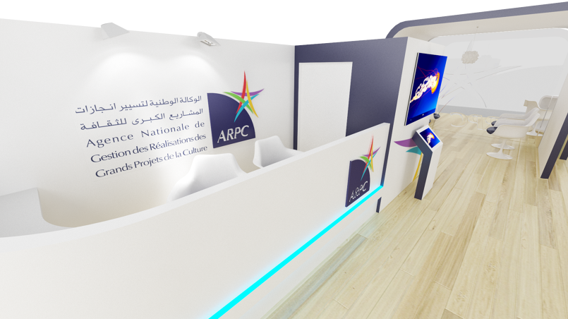 3d stands exhibition