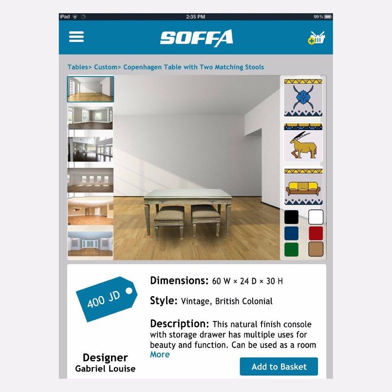 Soffa branding