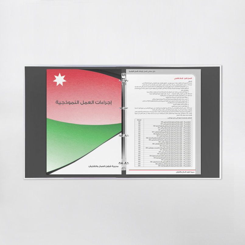 Inspector's SOP Binder Inner Pages Design - Final Design