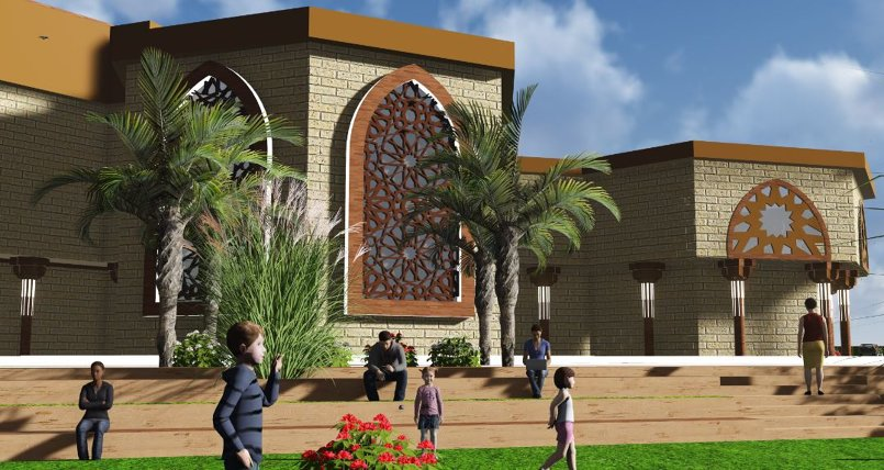 تصميم متحف اسلامي معاصر