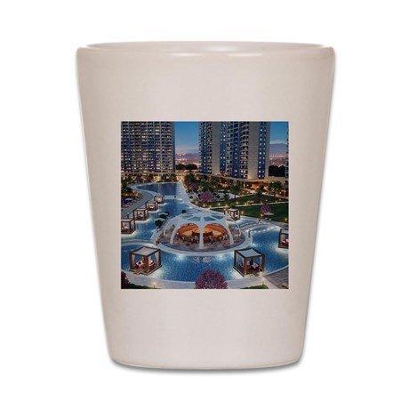 تصميم مميز بى استخدام شعار لمنتجع سياحى فندق