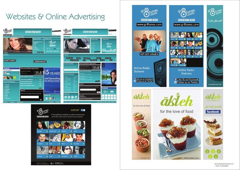 Website, Software & Online Ads